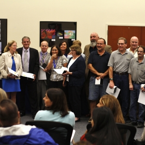 Marsh Creek Sixth Grade Center staff gains recognition for their role in opening the school.