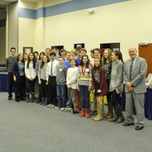 Lionville Middle School's Future Cities team placed second in the 2015 competition.