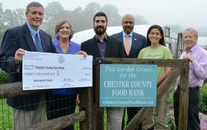 Chester-County-Food-Bank-Check-Presentation-3