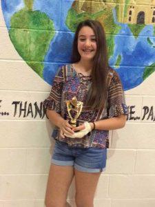Lindsay Saddic of Lionville Middle School.