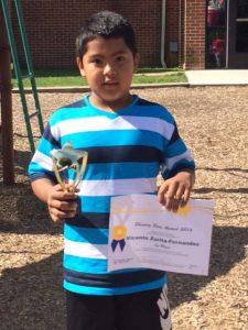 Vicente Zurita-Fernandez of New Garden Elementary.
