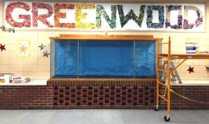 Greenwood elementary mural