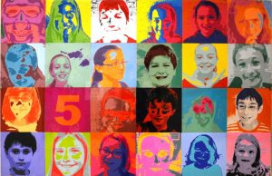 Pocopson-Elementary-Andy-Warhol-mural---Art-in-Action